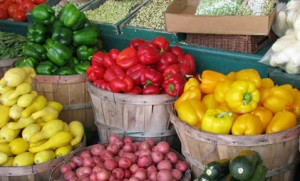 photo - local produce at MA Farmers Market