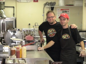 Chris Gagen, (left) and his brother Sean of CJ's Northside Grill in Nobscot.