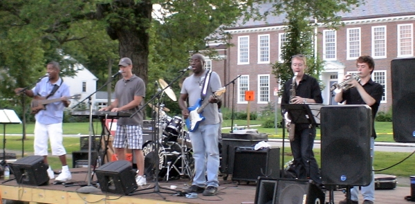 The Infractions at Framingham Concert on the Green, (July 1, 2011)