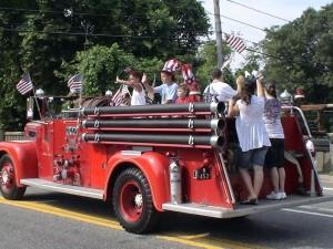 Vintage Framingham Fire Engine 8
