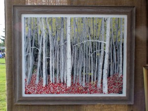 Stand of Birches by Bill Robinson