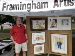 Framingham Artist & Illustrator Kevin McGovern