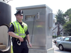 Framingham Police Officer Tom McCarthy, traffic detail, (July 19, 2011)