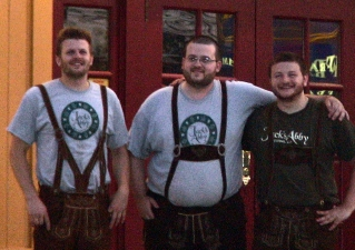 Jack Hendler,  Eric Hendler, and Sam Hendler of Jack's Abby Brewing, Framingham, MA (July 2,1 2011)