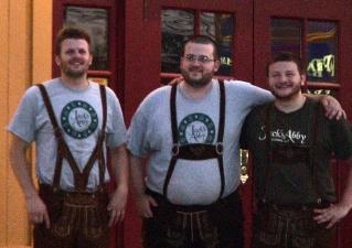 Jack Hendler,  Eric Hendler, and Sam Hendler of Jack's Abby Brewing, Framingham, MA (July 2,1 2011)
