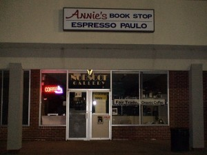 Annies Book Stop / Espresso Paulo, Nobscot Shopping Center, Framingham MA, (July 28,2011 photo)