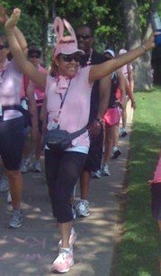 Dr. Sheri Phillips, Cancer Survivor in (2010) 3-day Walk for the Cure