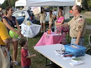 Ken Ross, Boy Scout Pack 78, Framingham, MA