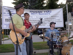 Tony Maenzo and the OFF THE HOOK band, Framingham, MA.