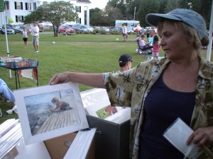 Framingham Artist Guild member Deborah Bottomley sells high quality matted giclée prints of her original watercolors.