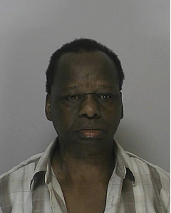 Onyango Obama, age 67, Framingham, MA (police photo)