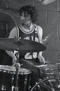 Rezwan Ferdaus, pictured when he was drummer for Boston area band ''The Silk Road''.