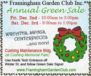 2011 - Framingham Garden Club - Holiday Green Sale