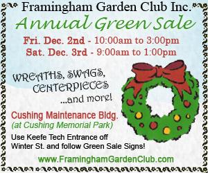 2011 - Framingham Garden Club - Holiday Green Sale
