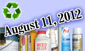 Framingham Hazardous Waste Day, Saturday, August 11, 2012