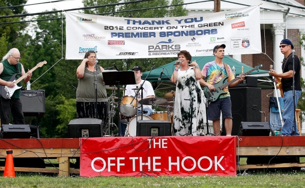 The OFF THE HOOK Band, (photo, 2012)