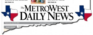 MetroWest Daily News Texas Masthead