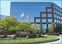 (photo) Headquarters of Staples, Inc.