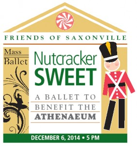 Nutcracker Sweet - Ballet to Benefit the Athenaeum in SaxonvilleBenefit Ballet. Dec. 6, 2014