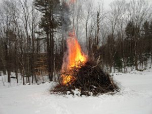 outdoor / open burning in Framingham