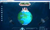 norad santa website screen capture