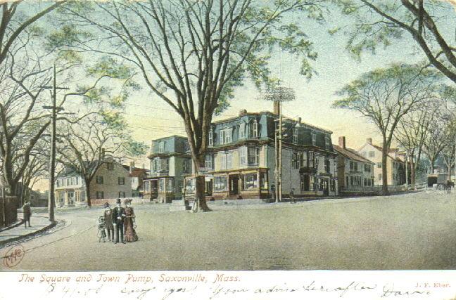 Antique Postcards from Framingham, MA (USA)
