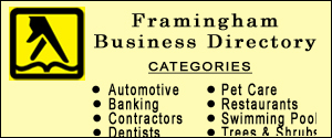 Framingham business directory, yellow pages, local company info
