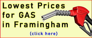 Cheapest Gas Prices in Framingham