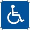 MA handicap placard symbol