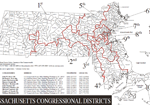 MA Congressional Districts Map, 2011