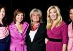 (photo) Channel 5 - JC Monahan, Kelley Tuthill, Susan Wornick, Bianca de la Garza, Rhondella Richardson in Framingham, MA Oct. 26, 2011