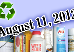 Framingham Hazardous Waste Day, Saturday, August 11, 2012