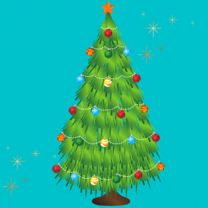 christmas tree, clip art