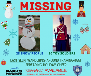 Framingham Toy Soldier Scavenger Hunt (2020)