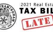2021 Framingham R.E. Tax Bill Info