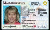 [image] Real ID, MA Drivers License