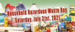 July 31, 2021 Hazardous Waste Day, Framingham